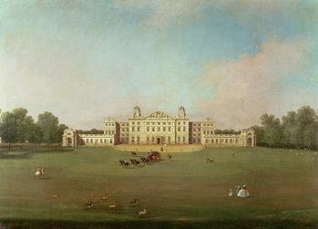 Reprodução do quadro  Badminton House, Gloucestershire
