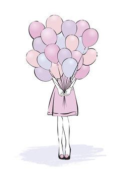 Ilustração Balloons