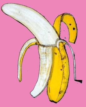 Reprodução do quadro Banana, 2014