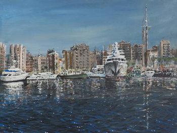 Reprodução do quadro  Barcelona, 1998,
