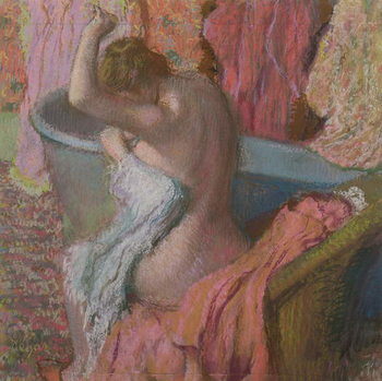 Reprodução do quadro Bather, 1899