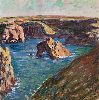Reprodução do quadro Belle-Ile, 1886