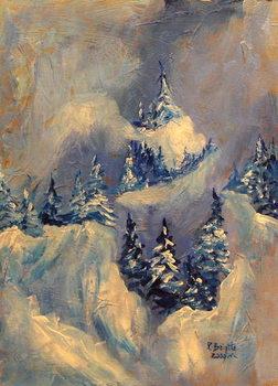 Reprodução do quadro Big Horn Peak, 2009
