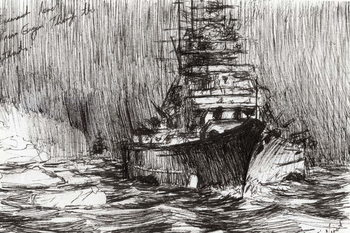 Reprodução do quadro  Bismarck, coast of Greenland, 2005,