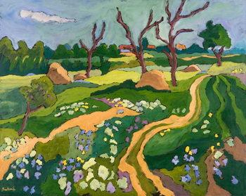 Reprodução do quadro Blooming Erpart, 2006