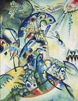 Reprodução do quadro  Blue Comb, 1917