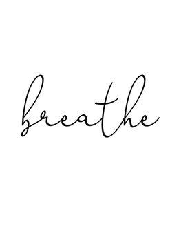 Ilustração breathe