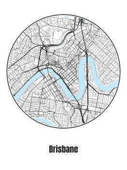 Map Brisbane