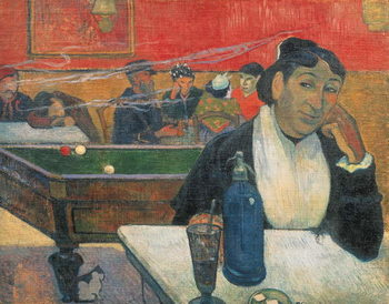 Reprodução do quadro Cafe at Arles, 1888