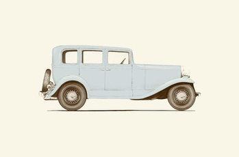 Reprodução do quadro Car of the 30s