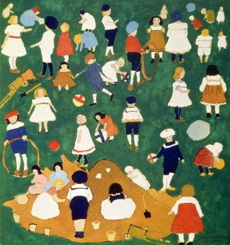 Reprodução do quadro  Children, 1908