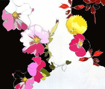 Reprodução do quadro China Garden