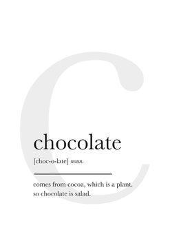 Ilustração chocolate