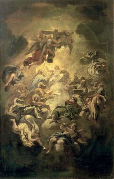 Reprodução do quadro Christ in Glory