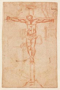 Reprodução do quadro  Christ on the Cross