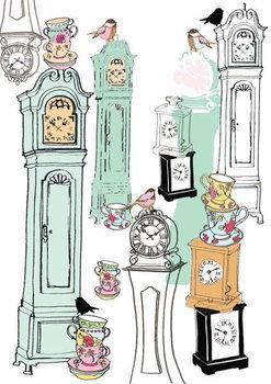 Reprodução do quadro Clocks, 2013