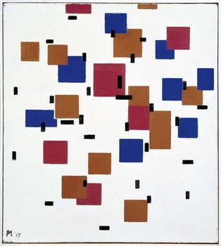 Reprodução do quadro  Composition in Colour A, 1917