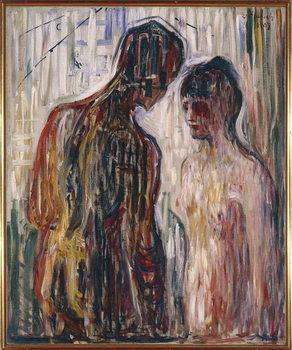 Reprodução do quadro  Cupid and Psyche, 1907