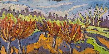 Reprodução do quadro Dancing Willows, 2007