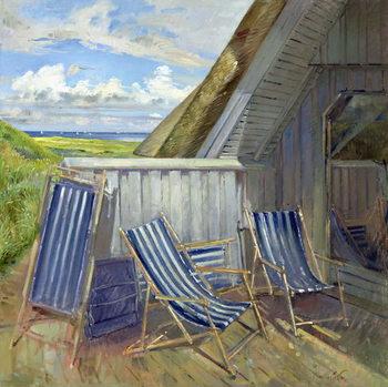 Reprodução do quadro  Danish Blue, 1999-2000