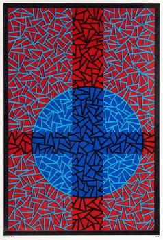Reprodução do quadro Deep Blue Placebo
