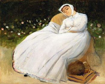 Reprodução do quadro Désirée Musson, 1873