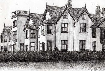 Reprodução do quadro Dimbola Lodge I.O.W., 2009,