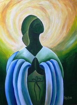 Reprodução do quadro  Divine Grace, 2011