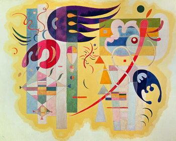 Reprodução do quadro  Dominant Violet, 1934
