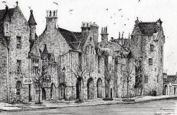 Reprodução do quadro Dornoch Scotland, 2006,