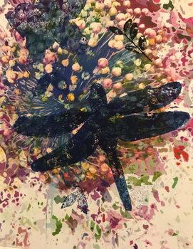 Reprodução do quadro Dragonfly