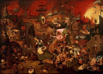 Reprodução do quadro  Dulle Griet (Mad Meg) 1564