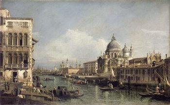 Reprodução do quadro  Entrance to the Grand Canal, Venice