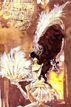 Reprodução do quadro Eugene Onegin - illustration of the character Tatyana from the opera by Pyotr Ilyich Tchaikovsky