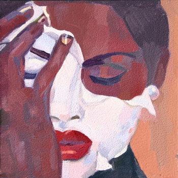 Reprodução do quadro 'Face 1', 2012,