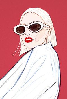Ilustração Fashion Face 2