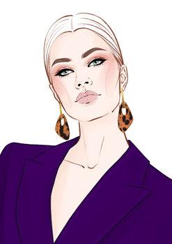 Ilustração Fashion Face