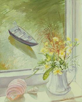 Reprodução do quadro First Flowers and Shells