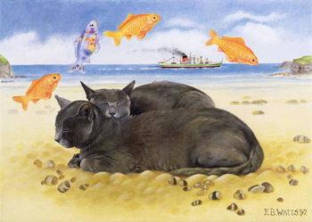 Reprodução do quadro Fish Dreams, 1997
