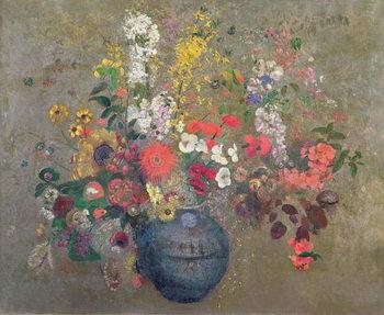 Reprodução do quadro Flowers, 1909