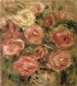 Reprodução do quadro  Flowers, 1913-19