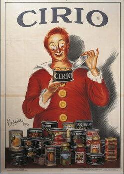 Reprodução do quadro Advertisement for Cirio food preserve, by Leonetto Cappiello , illustration, 1923