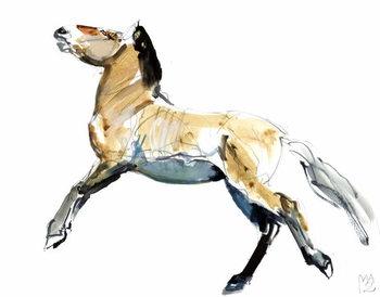 Reprodução do quadro  Free (Przewalski),2012,