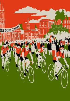 Reprodução do quadro Giro, 2013