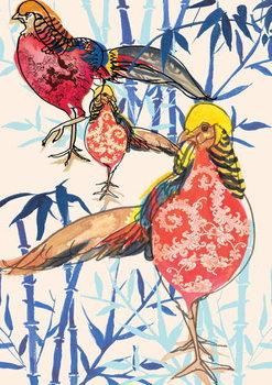 Reprodução do quadro Golden Pheasant, 2013