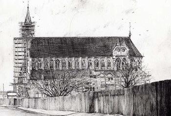 Reprodução do quadro Gorton Monastery, 2006,