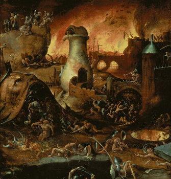 Reprodução do quadro  Hell