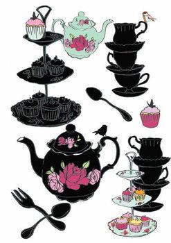 Reprodução do quadro High Tea, 2013