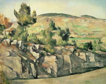 Reprodução do quadro  Hillside in Provence, c.1886-90