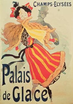 Reprodução do quadro 'Ice Palace', Champs Elysees, Paris, 1893